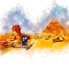 egypt tardis
